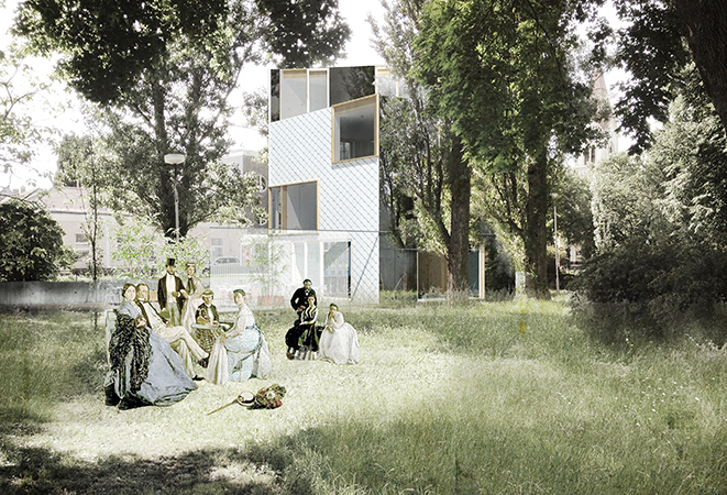 vizual záhrada
